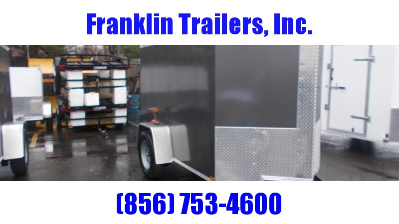 2020 Lark 5X8 Enclosed Cargo Trailer 2022015