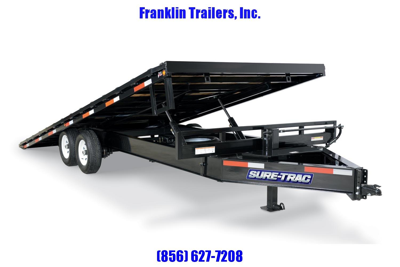 2020 Sure-Trac 102x22 Deckover Tilt Tandem BP 15K 2021461
