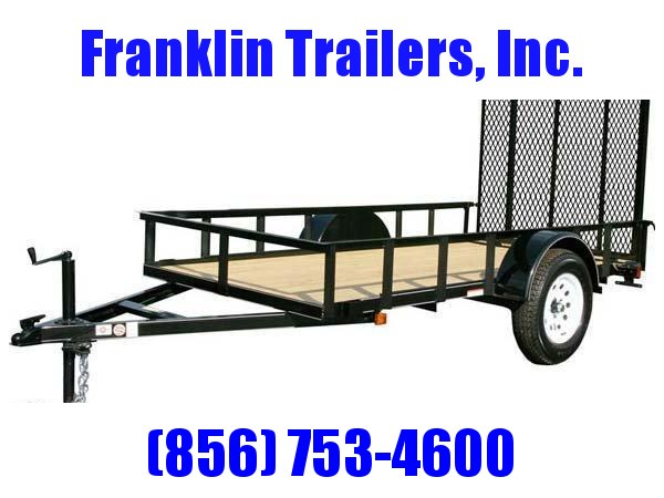 2019 Carry-On 5X12 Wood Floor Utility Trailer 2020097