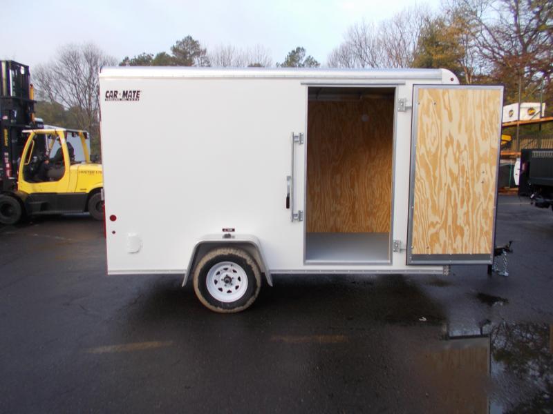 2020 Car Mate 6X12 Enclosed Cargo Trailer 2021465