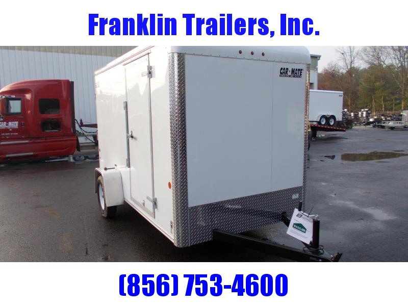 2020 Car Mate 6X12 Enclosed Cargo Trailer 2021465
