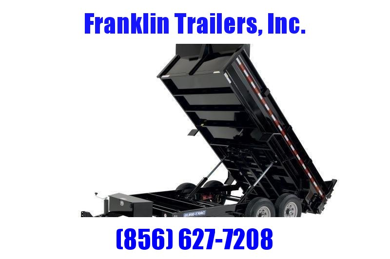 2020 Sure-Trac 82 IN X 12 LProfile 12K Dual Ram Dump 2021803