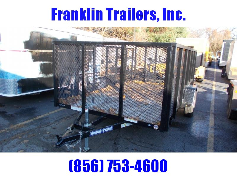 2019 Used Sure-Trac 7 X 12 SA Steel High Side Utility Trailer 2021288