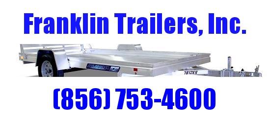 2021 Aluma 7814ES Utility Trailer  STOCK# 2022101
