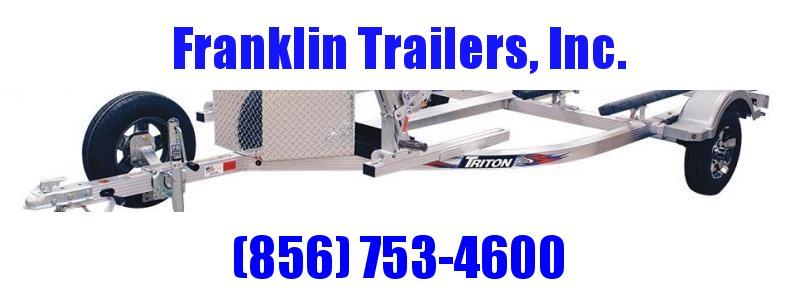 2020 Triton EWCII Aluminum Double Jetski Trailer 2022225