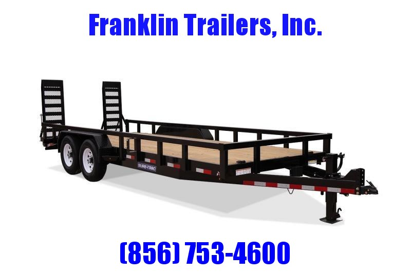 2020 Sure-Trac 7 x 18 Equipment Trailer  14K 2021866