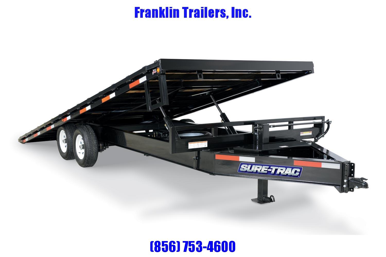 2020 Sure-Trac 102x22 Deckover Tilt Tandem BP 15K 2021138