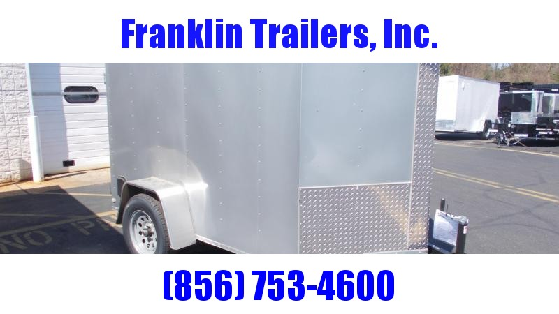 2020 Lark 5X8 Enclosed Cargo Trailer 2022042