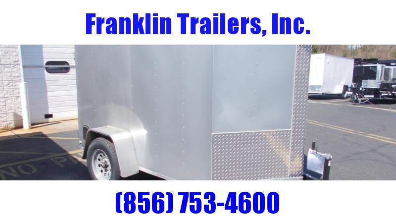 2020 Lark 5X8 Enclosed Cargo Trailer 2022042