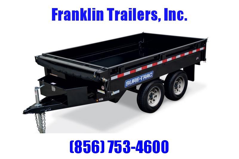 2020 Sure-Trac 72 IN X 10 Deckover Dump 10K Single Ram 2021796