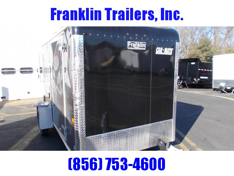 2020 Car Mate  6X12 Single Axle Custom Cargo Trailer Enclosed Cargo Trailer 2021533