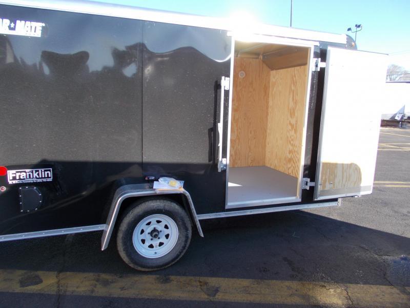2020 Car Mate  6X12 Single Axle Custom Cargo Trailer Enclosed Cargo Trailer 2021533