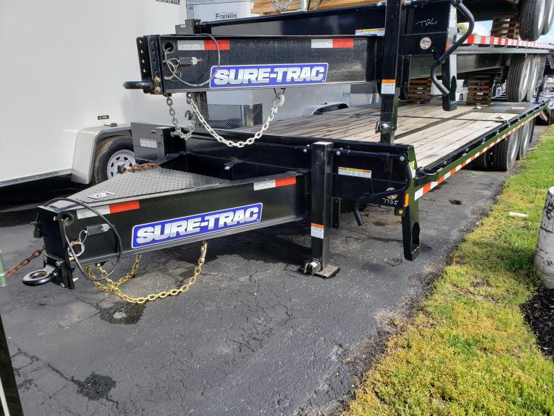 2020 Sure-Trac 8.5x20+5 LowPro Deckover Tandem BP 22.5K 2021066