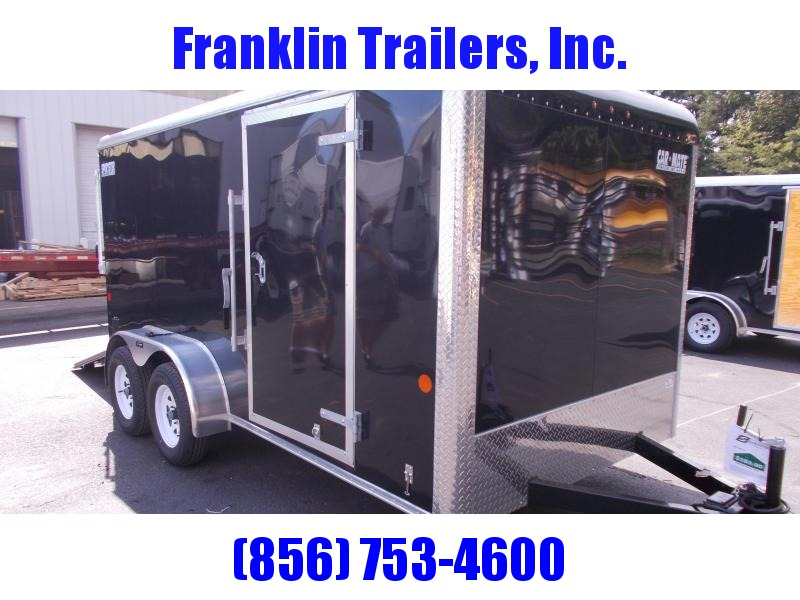 2020 Car Mate 7 X 14 Tandem Axle Enclosed Cargo Trailer 2021075