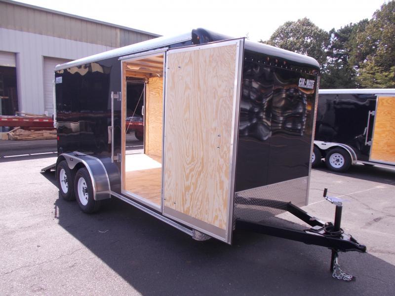 2020 Car Mate 7 X 14 Tandem Axle Enclosed Cargo Trailer 2021075