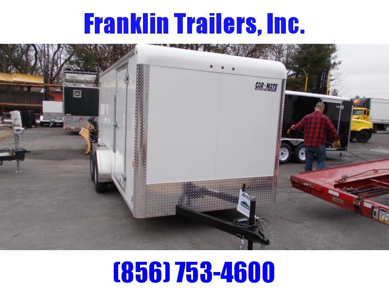 2020 Car Mate 7X14 Tandem Axle Enclosed Cargo Trailer 2021462
