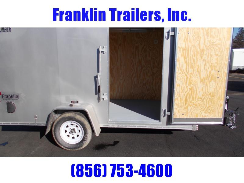 2020 Car Mate 6X12 Enclosed Cargo Trailer 2021534