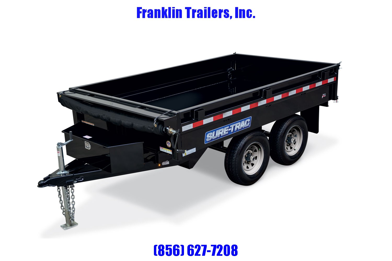 2020 Sure-Trac 72 IN X 10 Deckover Dump 10K Single Ram 2021579