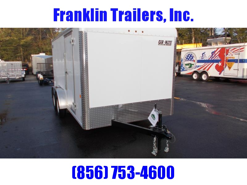 2020 Car Mate  7X14 Enclosed Cargo Trailer 2021468