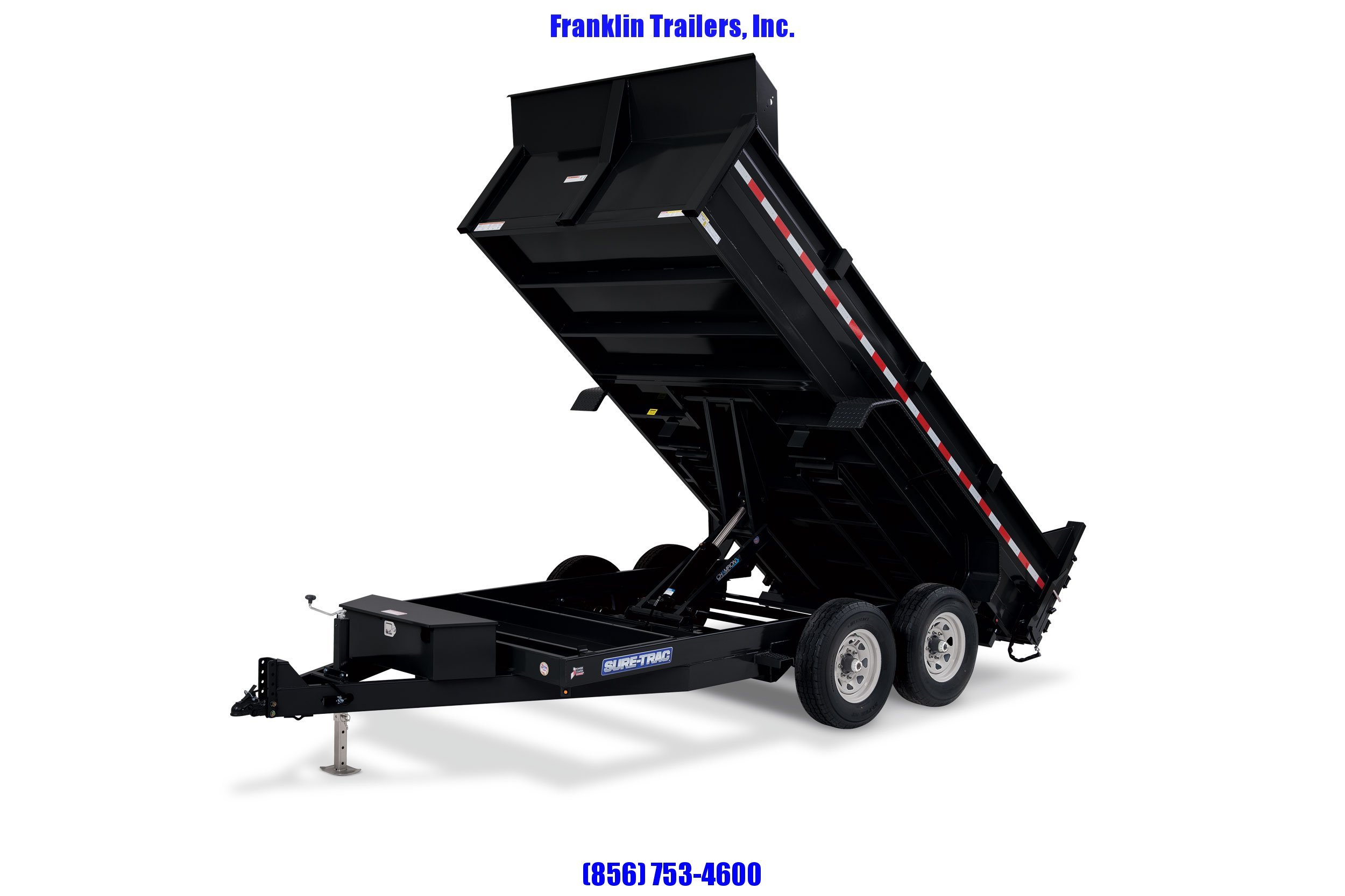2020 Sure-Trac 82 IN X 16 LProfile 16K Scissor Dump 2021380