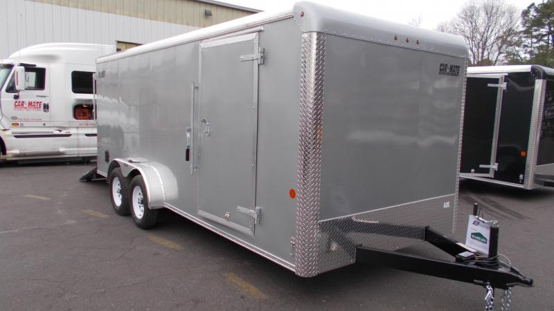 2020 Car Mate  7x18 - 7'W Tandem Axle Enclosed Cargo Trailer 2022065