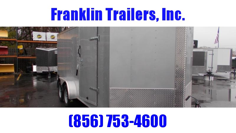 2020 Lark E716LU3TV Enclosed Cargo Trailer 2022017