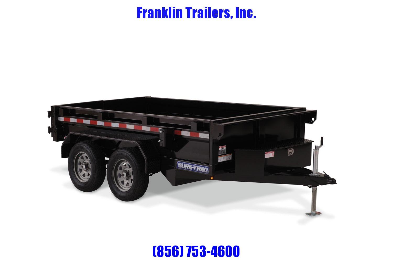 2020 Sure-Trac 62in x 10 LProfile Dump 7K Single Ram  STOCK# 2022116