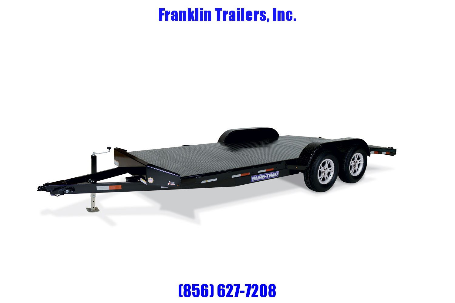 2020 Sure-Trac 7 x 20 Steel Deck Car Hauler  10k 2021296