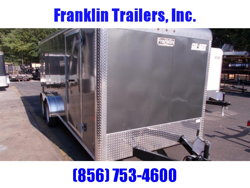 2019 Car Mate Trailers 7x18 - 7'W Tandem Axle Enclosed Cargo Trailer 2020863