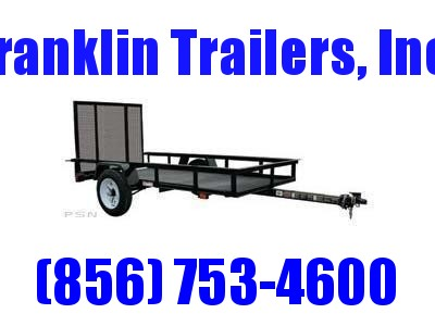 2019 Carry-On 4X8 - 2000 lbs. GVWR Mesh Floor Utility Trailer 2020132