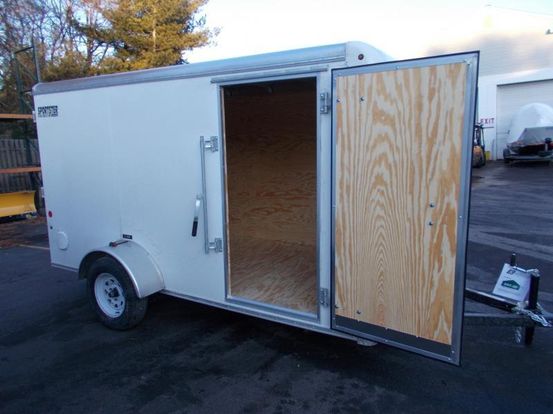 2020 Car Mate 6X12 Enclosed Cargo Trailer 2021438