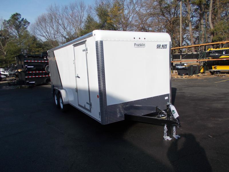 2020 Car Mate  7x18 - 7'W Tandem Axle Enclosed Cargo Trailer 2021429