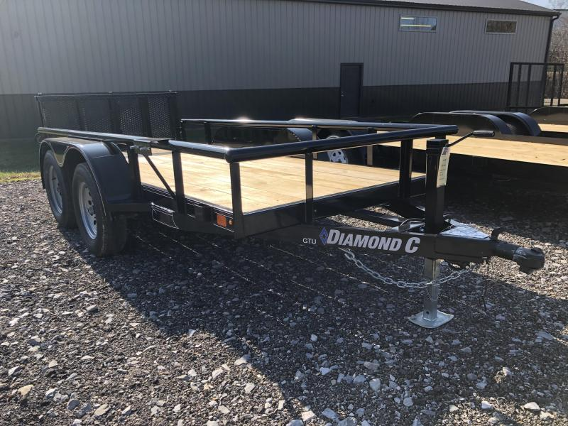 2020 Diamond C Trailers GTU235 12X60 Utility Trailer