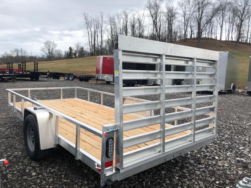2019 Sport Haven AUT614 Aluminum Utility Trailer