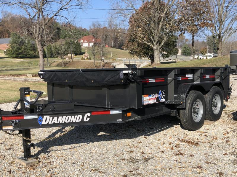 2020 Diamond C Trailers LPD207 12X82 Dump Trailer
