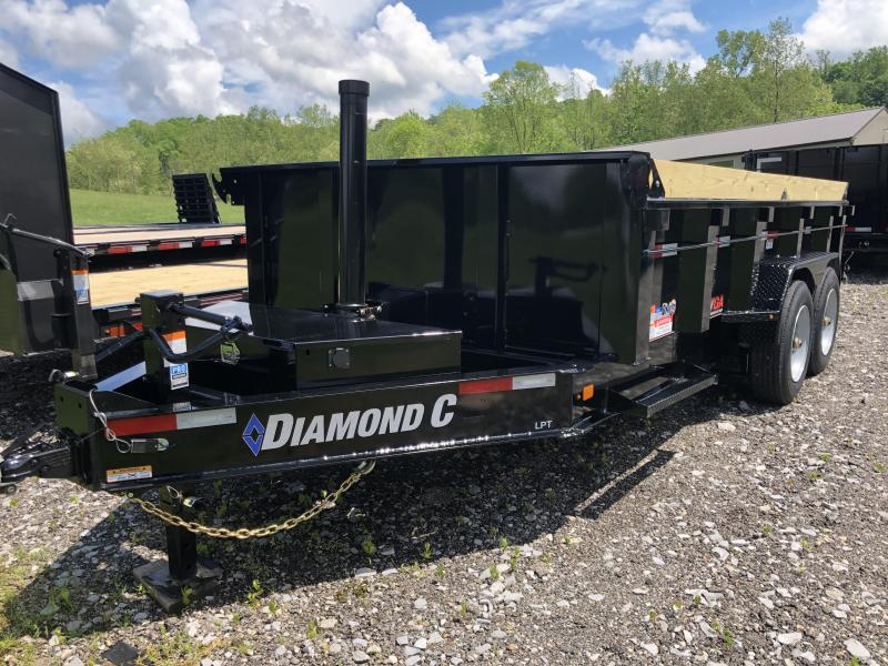 2020 Diamond C Trailers LPT207 14X81 Dump Trailer