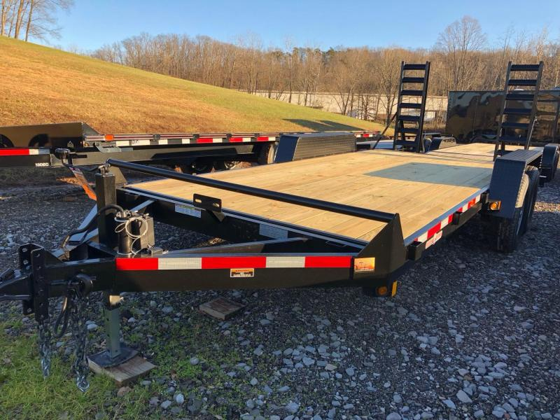 2020 Currahee E718.14KD Equipment Trailer