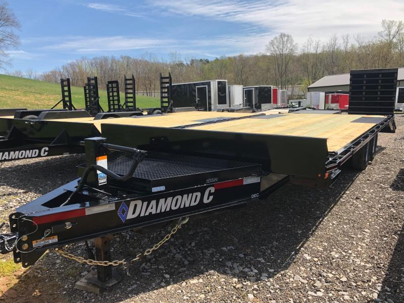 2020 Diamond C Trailers DEC207 24X102 Equipment Trailer