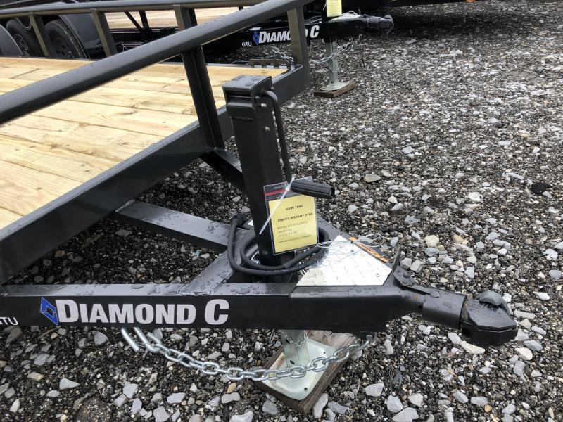 2020 Diamond C Trailers GTU235 20X83 Utility Trailer