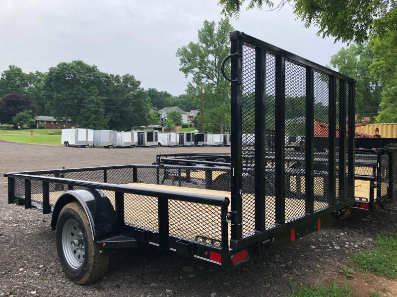 2020 Diamond C Trailers GSA135 12X77 Utility Trailer w/ Expanded Metal Sides