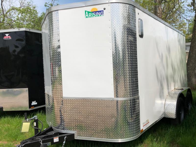 2019 Arising 712VTDW Enclosed Cargo Trailer
