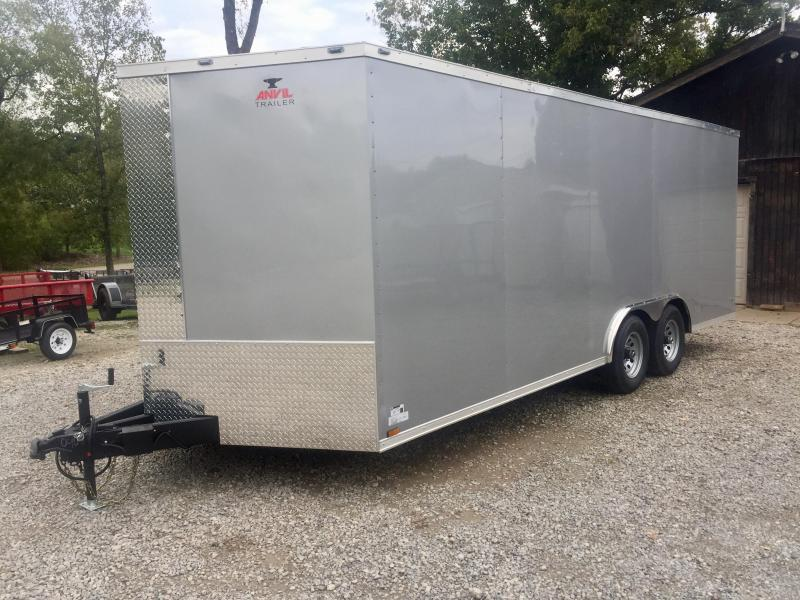 2020 Anvil AT8.5X20TA3 Enclosed Cargo Trailer 10K