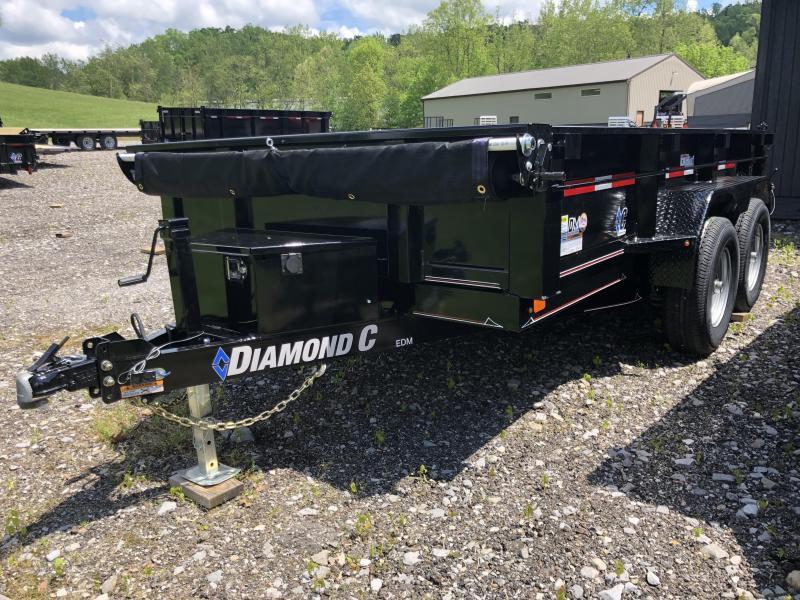 2019 Diamond C Trailers EDM252 12X77 Dump Trailer