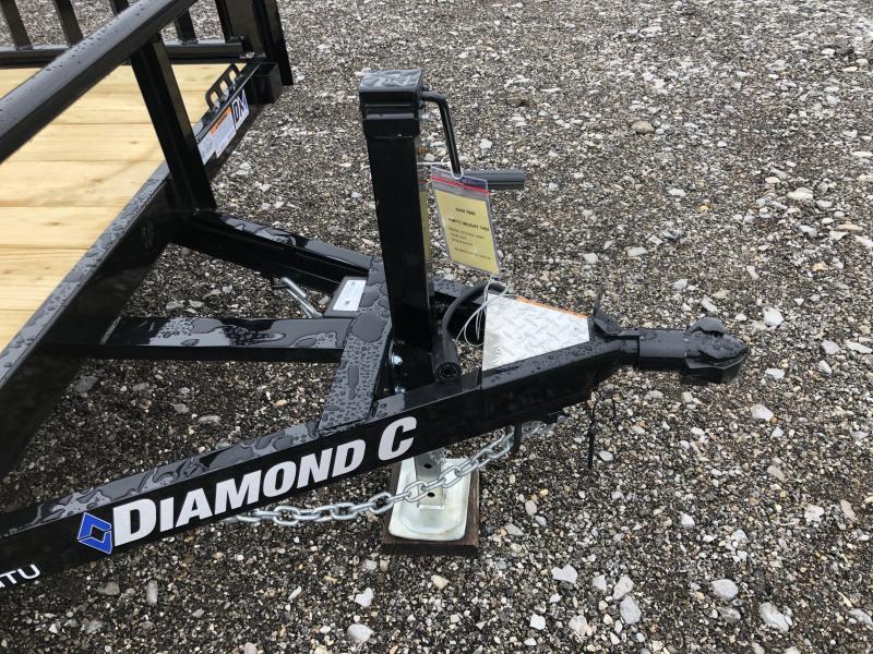 2020 Diamond C Trailers GTU235 14X83 Utility Trailer