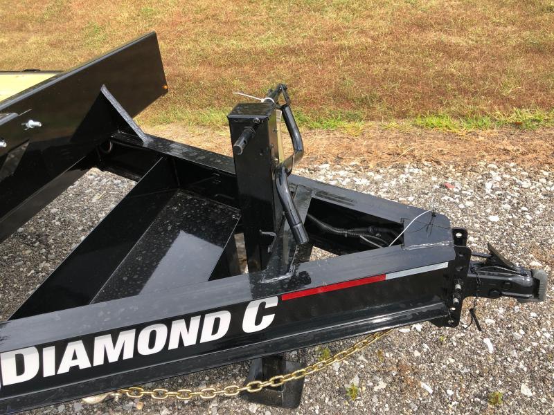 2020 Diamond C Trailers DEC207 20X102 Equipment Trailer