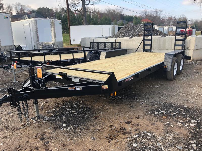2020 Currahee E720.10KD Equipment Trailer