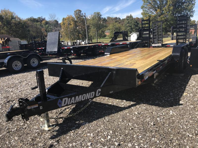 2020 Diamond C Trailers EQT207 20X82 Equipment Trailer
