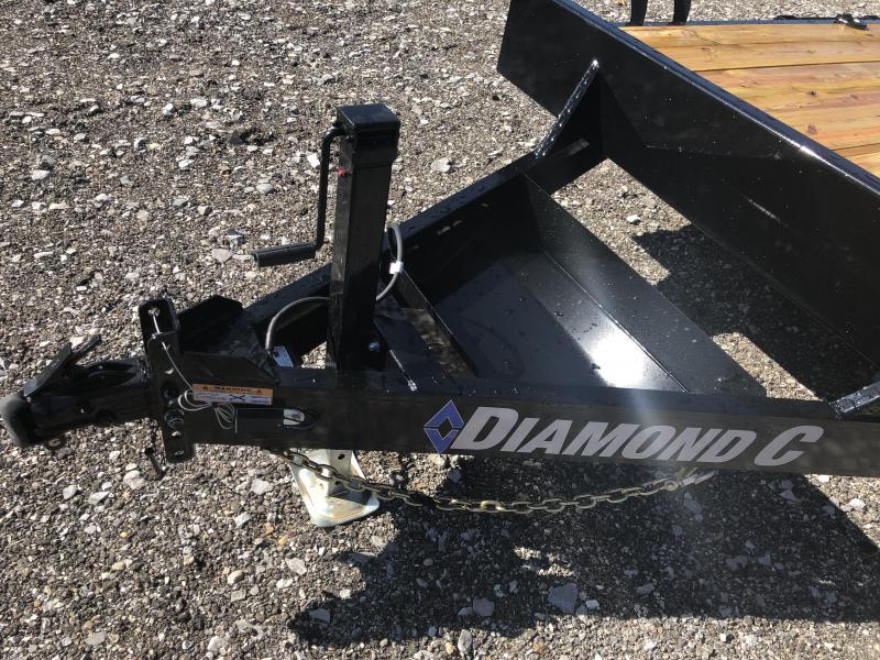 2020 Diamond C Trailers EQT207 20X82 Equipment Trailer