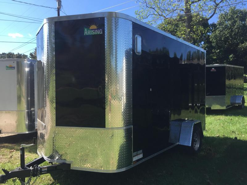 2019 Arising 712VSRB Enclosed Cargo Trailer With 7' Interior Height