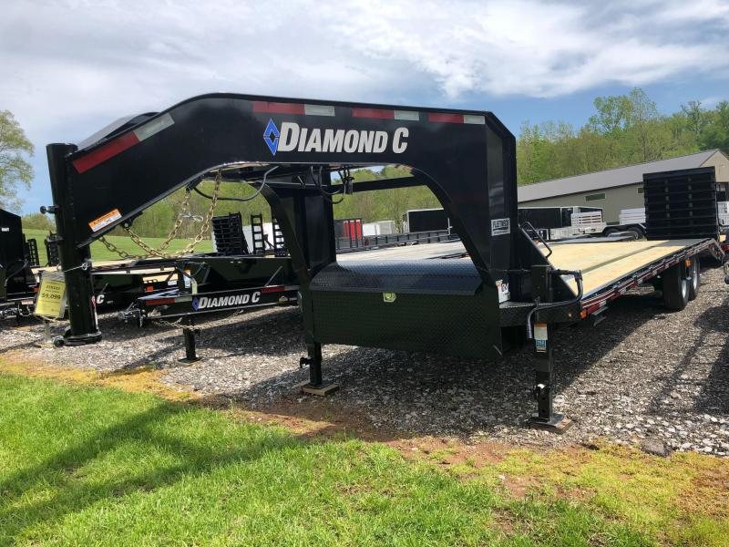2020 Diamond C Trailers FMAX207L25X102MR Equipment Trailer